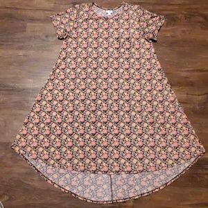 LulaRoe Carly Dress Floral Print XL